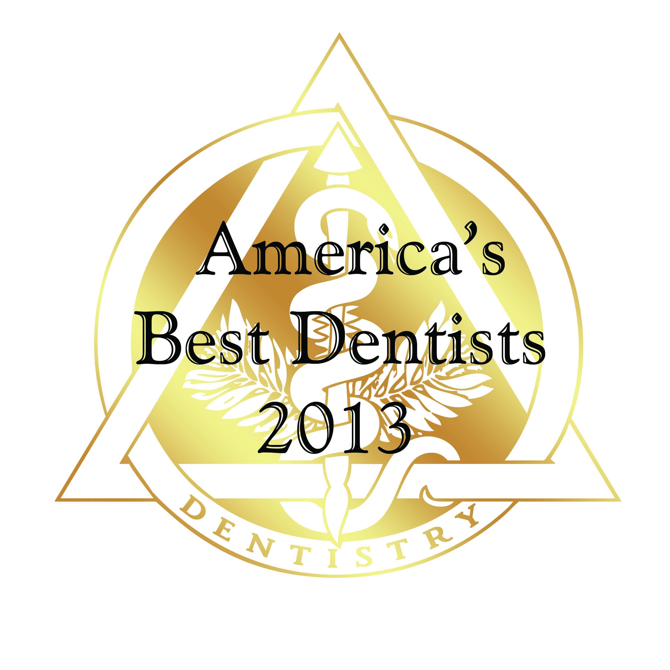 America S Best Dentist Award 2013 Rudnick Dentistry