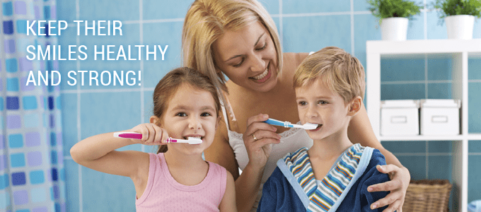Keep your family's smiles healthy and bright by taking care of their oral needs before problems arise