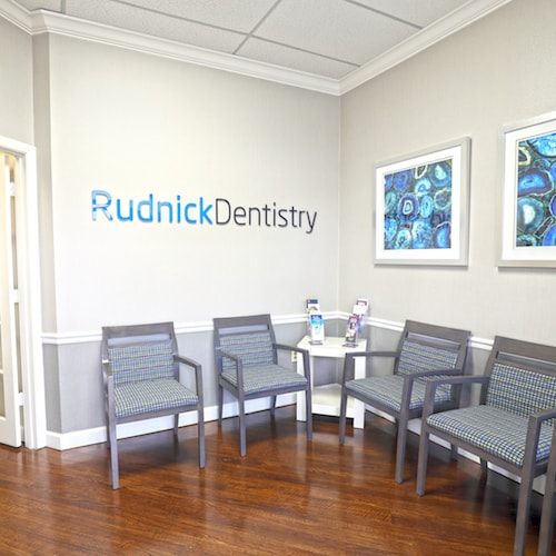 The office of one of the top dentists in Palm Beach Gardens