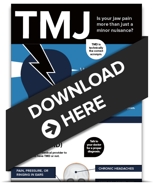 Your free TMJ Palm Beach Gardens infographic