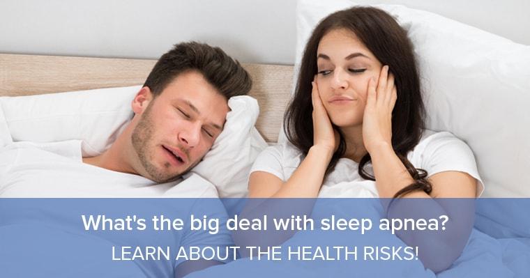Sleep apnea is a big deal.