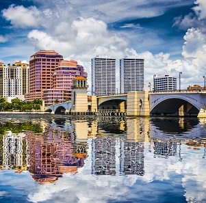 City view of Palm Beach Gardens