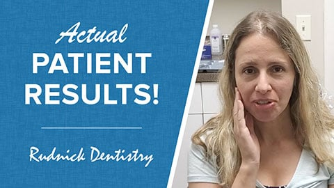 Actual patient results preview about TMJ results